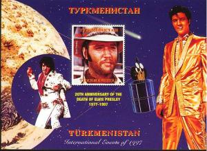 TURKMENISTAN SHEET ELVIS PRESLEY