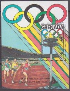 1989 Grenada 1970/B218 1988 Olympic Games in Seoul 7,50 €