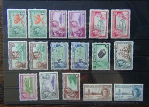 Pitcairn Island 1940 - 1951 set to 2/6 + extra values + 1946 Victory set MM
