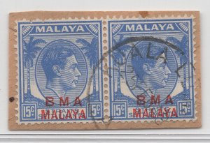 Malaya BMA - 1945 - SG 12 - Fine Used (Kuala Lumpur #3 Cancellation)