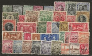 Barbados Selection. Pre War Issues [mx]