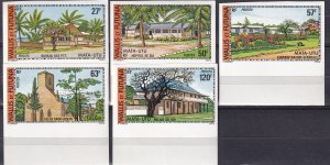 Wallis & Futuna Islands #200-04  MNH Imperf (Z9187)