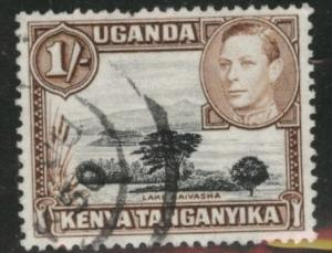 Kenya Uganda and Tanganyika KUT Scott 80a Used perf 13x12.5