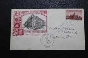 1946 60 Years Chicago Philatelic Cover