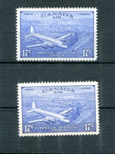 Canada #CE1 and CE3 Mint  VF NH -  Lakeshore Philatelics