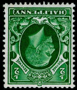 SG439Wi, ½d green, VLH MINT. Cat £11. WMK INV