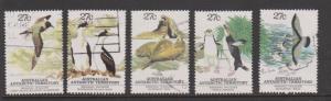 Australia Sc#L55a-e Used