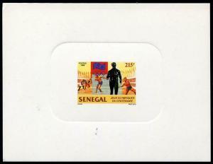 HERRICKSTAMP SENEGAL Sc.# 1213 Olympics Imperf Deluxe S/S