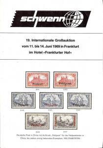 Schewnn: Sale # 19  -  Schwenn 19. Internationale GroB-Au...