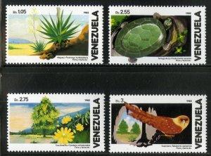 VENEZUELA 1267-70 MNH SCV $7.25 BIN $3.75 BIRDS