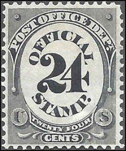 O54 Mint,OG,HR... SCV $225.00... VF/XF