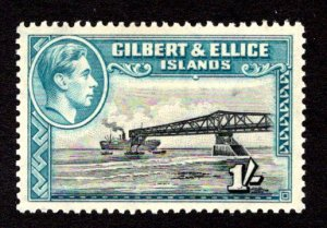 GILBERT AND ELLICE ISLANDS  SC# 48a  VF/MOG