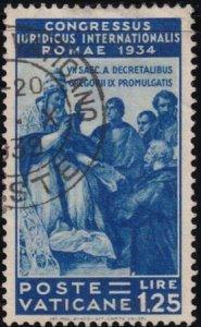 Vatican City 1935 SC 46 Used