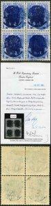 Burma Japanese Occ SG J27a 6p Bright Blue Opt DOUBLE BPA Cert