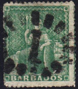 Barbados #13 Used