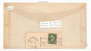 VV136 1896 Canada Montreal Cover PTS