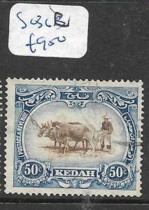MALAYA   KEDAH  (PP2704B) 50C  COW  SG 36C  VFU