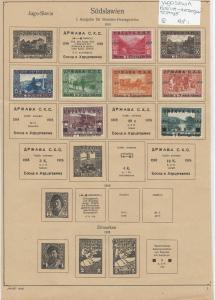 Yugoslavia Bosnia-Herzergaw Stamps Ref: R7261