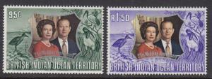 British Indian Ocean Territory 48-9 mnh