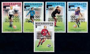 [69038] Nicaragua 1972 Football Soccer OVP Olympic Games MNH