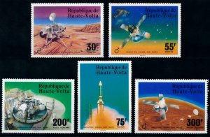 1976 Upper Volta 632-636 Mars Viking probe exploration mission 7,50 €