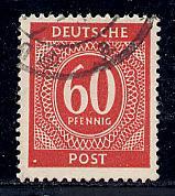 Germany Deutsche Post Scott # 552, used, var.