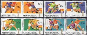 Aitutaki 1981 World Cup Football Championship, Spain MNH