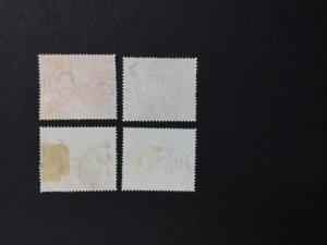 MOMEN: BARBADOS SG #516-517 CROWN CC 1897 USED £23 LOT #1222