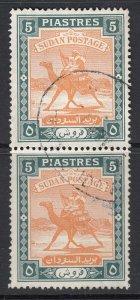 Sudan, Sc 89 (SG 106), used pair