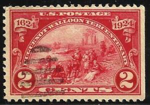 United States 1924 Scott# 615 Used