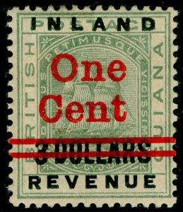 BRITISH GUIANA SG209, 1c on $3 green, M MINT.