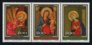 San Marino 1145a MNH Christmas, Art, Angel, Madonna & Child