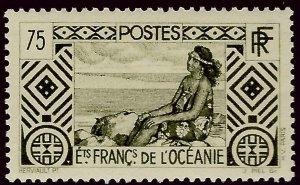 French Polynesia Sc #100 MNH VF...Polynesia is Unique!