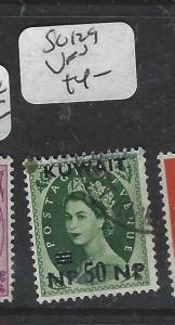 KUWAIT (P1804B)  ON  GB  QEII  50NP/9D    SG129     VFU