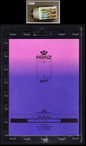 PRINZ Mounts GARD [Back opening] Black Cut-To-Size 116 x 49 x 10