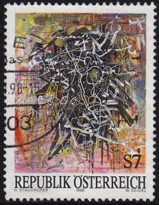 Austria - 1998 - Scott #1771 - used - Modern Art Staudacher