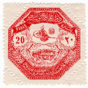 (I.B) Turkey (Ottoman) Postal : Thessaly 20pa