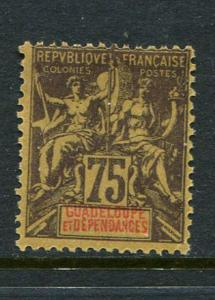 Guadeloupe #43 Mint