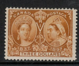 Canada #63 Very Fine Mint Lightly Hinged