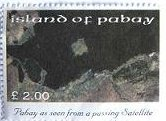 PABAY, British Local - 2004 - Pabay seen from a Satellite-Perf MNH  Single Stamp