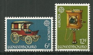 1979 Luxembourg Europa CEPT C/S MNH