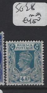 BURMA (P0304B)    KGVI  4A   SG 28      MOG