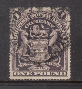 Rhodesia #72 Used Fine - Very Fine