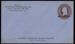 USA SPECIMEN 2c Bidders Sample Special Request UPSS 818 U280 Stationery 86067