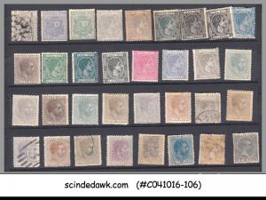 CUBA - MINI LOT OF CLASSIC STAMP FROM 1875 ONWARDS - 33V