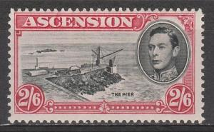ASCENSION 1938 KGVI THE PIER 2/6 PERF 13