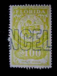 US/FLORIDA - # D97 - USED - CAT VAL $20.00