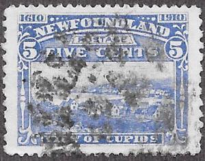 Newfoundland Scott Number 91 FVF Used