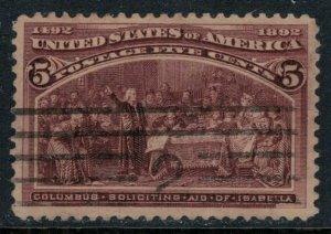 U.S. #234  CV $9.50