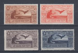 Italy Sc C23-C26 MNH. 1930 Air Mail, Jupiter and Eagle, complete set, fresh